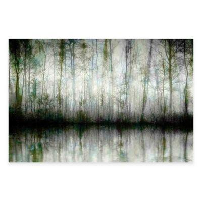 Wispy Trees 45-Inch x 30-Inch Canvas Wall Art