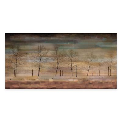 The Woods 24-Inch x 12-Inch Canvas Wall Art