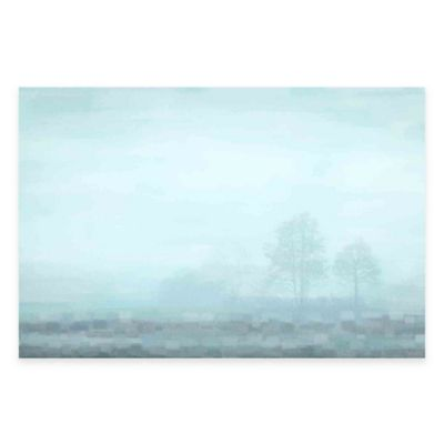 Hues of Blue 36-Inch x 24-Inch Canvas Wall Art