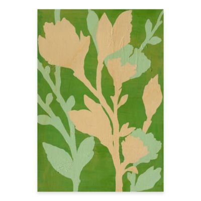 Branch in Bloom II 13-Inch x 18-Inch Wood Wall Art
