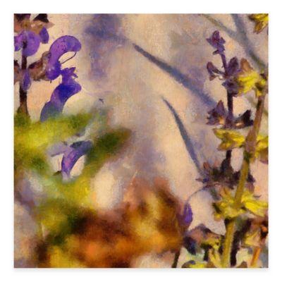 Soul Blossoming I 25-Inch x 25-Inch Wood Wall Art
