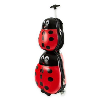 Heys® Travel Tots Ladybug 2-Piece Rolling Luggage and Backpack Set