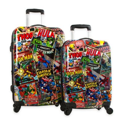 Marvel® Comics 2-Piece Hardside 4-Wheel Spinner Set