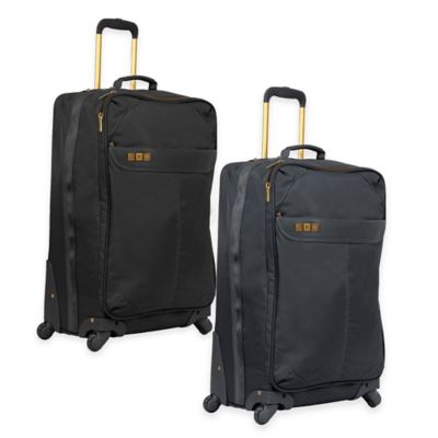 Flight 001 Avionette 26-Inch Rolling Check In Bag in Black