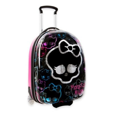 Mattel® Monster High™ Rolling Carry On Suitcase