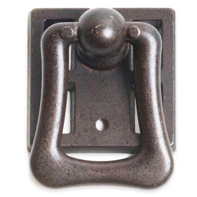 Bosetti Marella Rustic Ring Pull in Oil-Rubbed Bronze