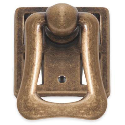 Bosetti Marella Rustic Ring Pull in Dark Bronze
