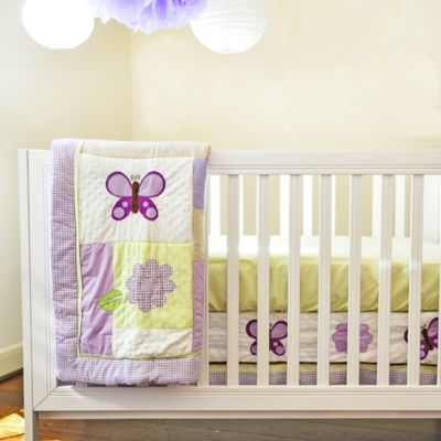 Butterfly Crib Bedding Set