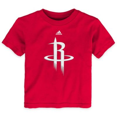 NBA Size 3T Houston Rockets Short Sleeve Shirt in Red