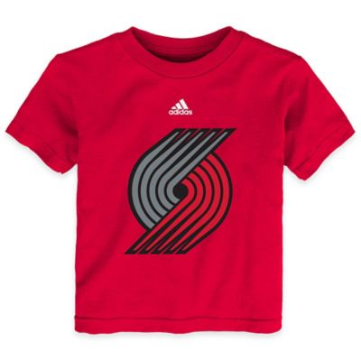 NBA Portland Trailblazers Size 4T Short Sleeve Shirt in Red