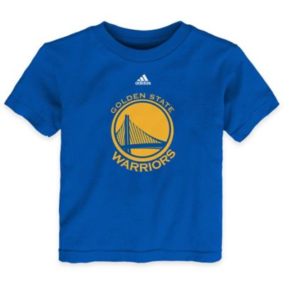 NBA Size Golden State Warriors Size 4T Short Sleeve Shirt in Blue