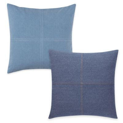 Sure Fit® Authentic Denim Pillow Cover in Chambray