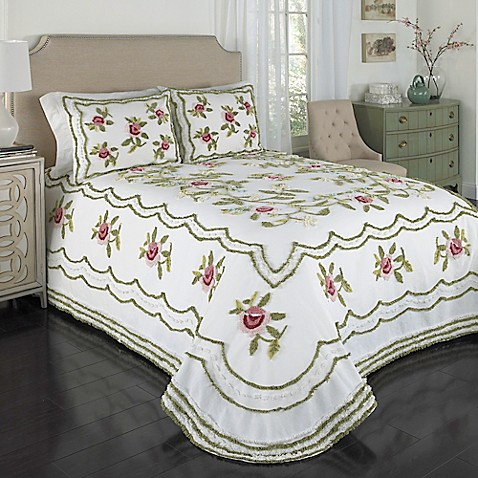 Buy Samantha Chenille Twin Bedspread From Bed Bath Amp Beyond