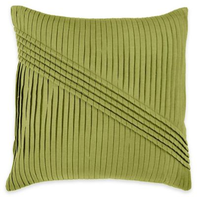 Rizzy Home Pleated and Corded Square Throw Pillow