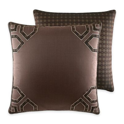 Croscill® Sancerre European Pillow Sham in Chocolate