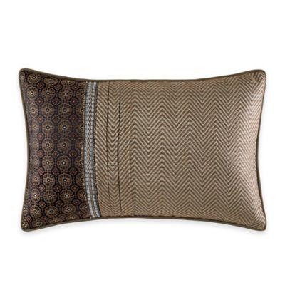 Croscill® Sancerre Boudoir Throw Pillow in Chocolate