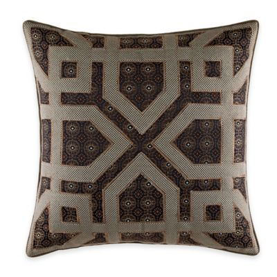 Croscill® Sancerre Fashion Throw Pillow in Chocolate