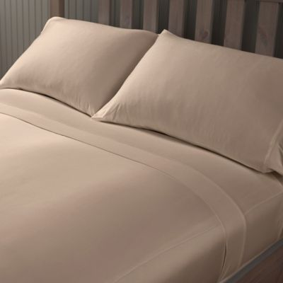 Berkshire Blanket® PerformTec™ Performance Queen Sheet Set in Travertine