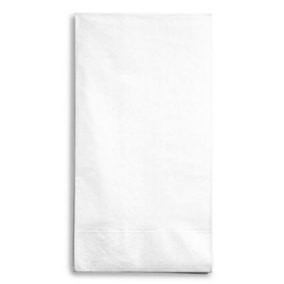 Creative Bath 2-Ply 100-Count Guest Towels in White