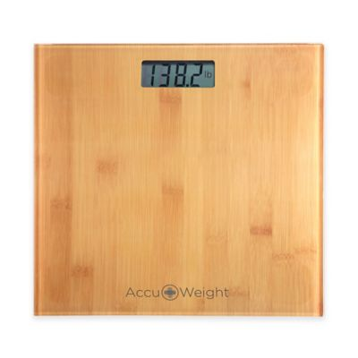 Accuweight Glass Digital Bathroom Scale
