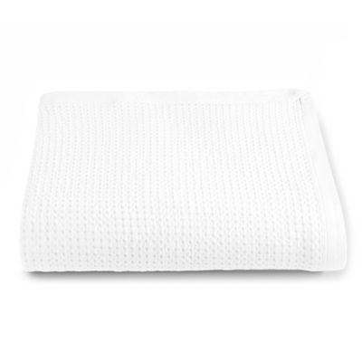 Kassatex Messina Queen Coverlet in White