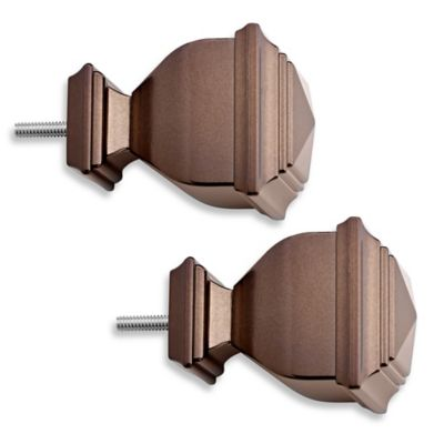 Cambria® Classic Complete Napoleon Finial in Toffee (Set of 2)