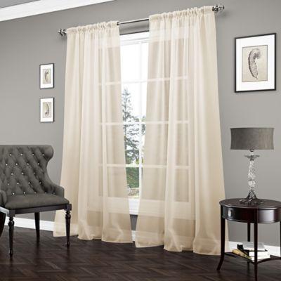 Soft Gold Curtain Panel