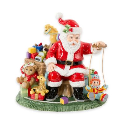 Fitz and Floyd® Santa's Toy Shop Music Box