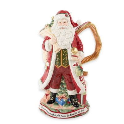 Fitz and Floyd® Night Before Christmas Santa Pitcher