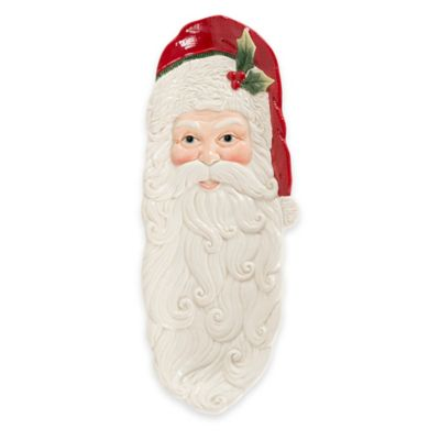 Fitz and Floyd® Night Before Christmas Elongated Santa Tray