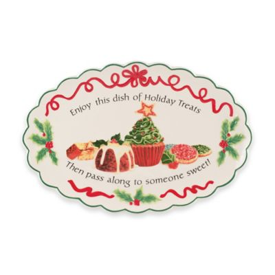 Fitz and Floyd® Holiday Treats Cookie Platter