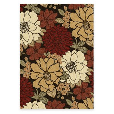 Orian Euphoria Faith 7-Foot 10-Inch x 10-Foot 10-Inch Area Rug in Brown