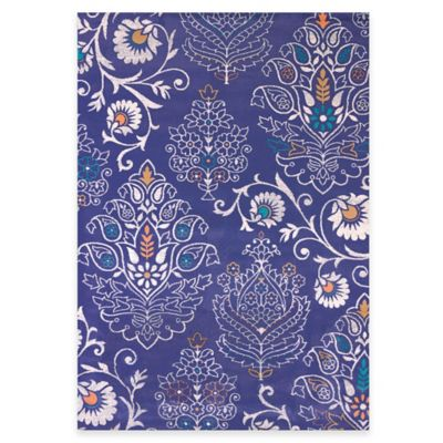 United Weavers Marquee Dominique 7-Foot 10-Inch x 10-Foot 6-Inch Area Rug in Navy