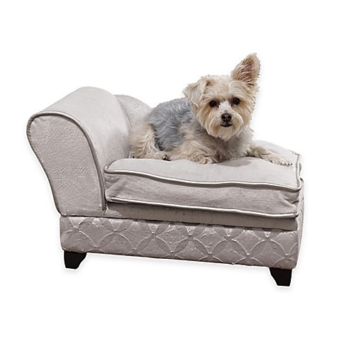 Buy Cosmo Chaise Lounge Storage Pet Bed From Bed Bath Amp Beyond