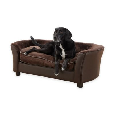 Pet Panache Pet Sofa in Brown