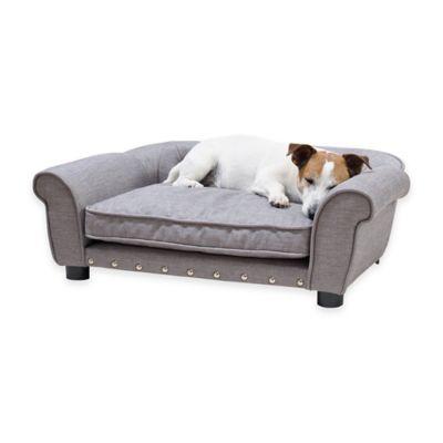 Enchanted Home Pet Brisbane Pet Sofa in Grey