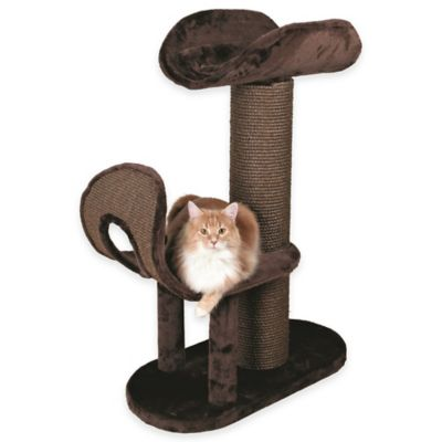 Ramirez Cat Tree With 2 Perches in Brown