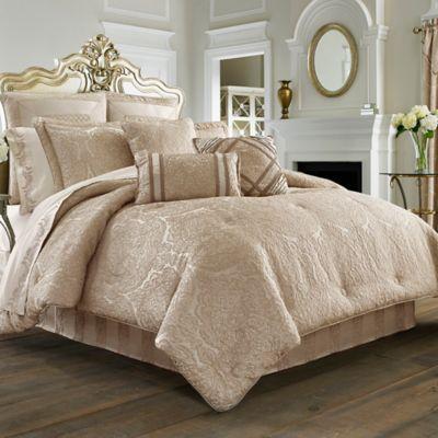 J. Queen New York™ Renaissance Queen Comforter Set in Sand