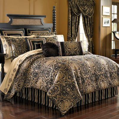 J. Queen New York™ Paramount California King Comforter Set in Chocolate