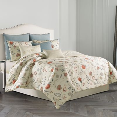 Wedgewood® Pashmina King Comforter Set in Ivory