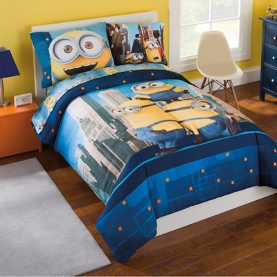 Minions 6-Piece Full Comforter Set