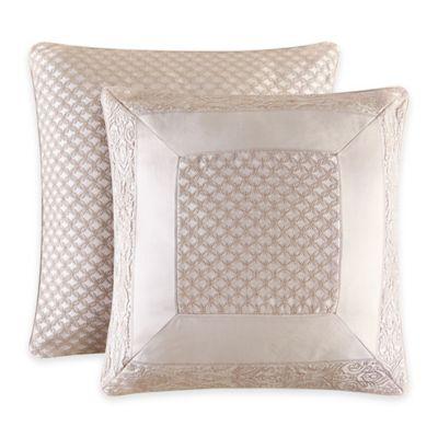 J. Queen New York™ Renaissance European Pillow Sham in Sand