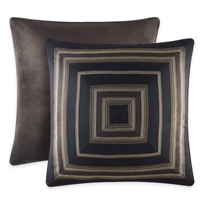J. Queen New York™ Paramount European Pillow Sham in Chocolate