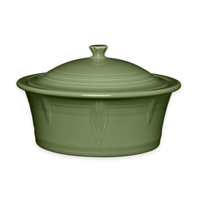 Fiesta® 90 oz. Covered Casserole Dish in Sage