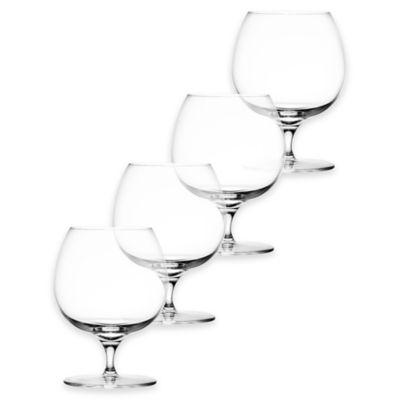 Libbey® Glass Perfect Signature™ Auden Brandy Glasses (Set of 4)