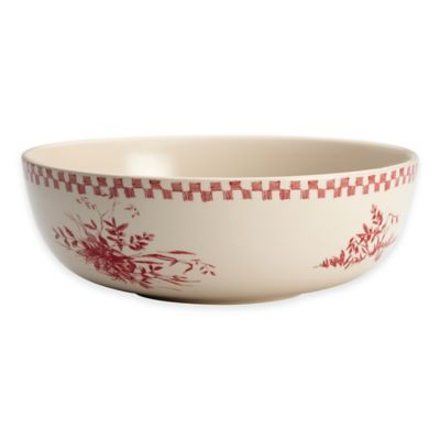 Bonjour Chanticleer Country 9-Inch Round Serving Bowl
