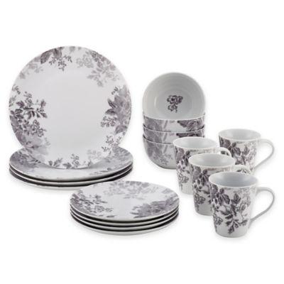 Bonjour Shaded Garden 16-Piece Dinnerware Set