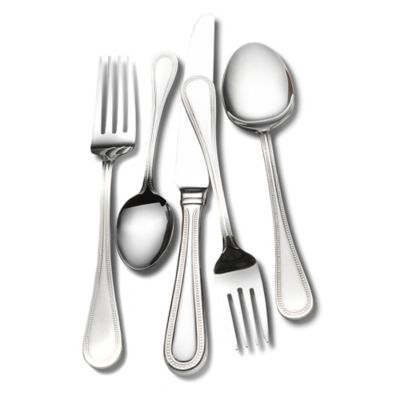 Wallace® Emerson 45-Piece Flatware Set