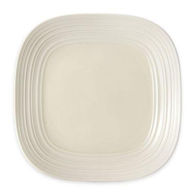 Cream Square Platter