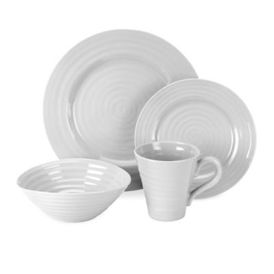 Sophie Conran for Portmeirion® 4-Piece Place Setting in Grey